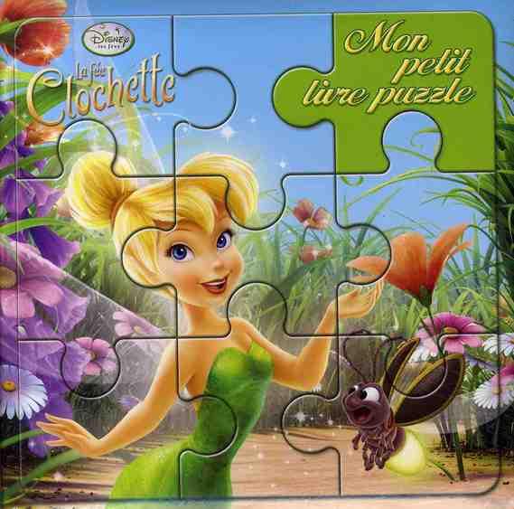 Mon Petit Livre Puzzle; La Fee Clochette