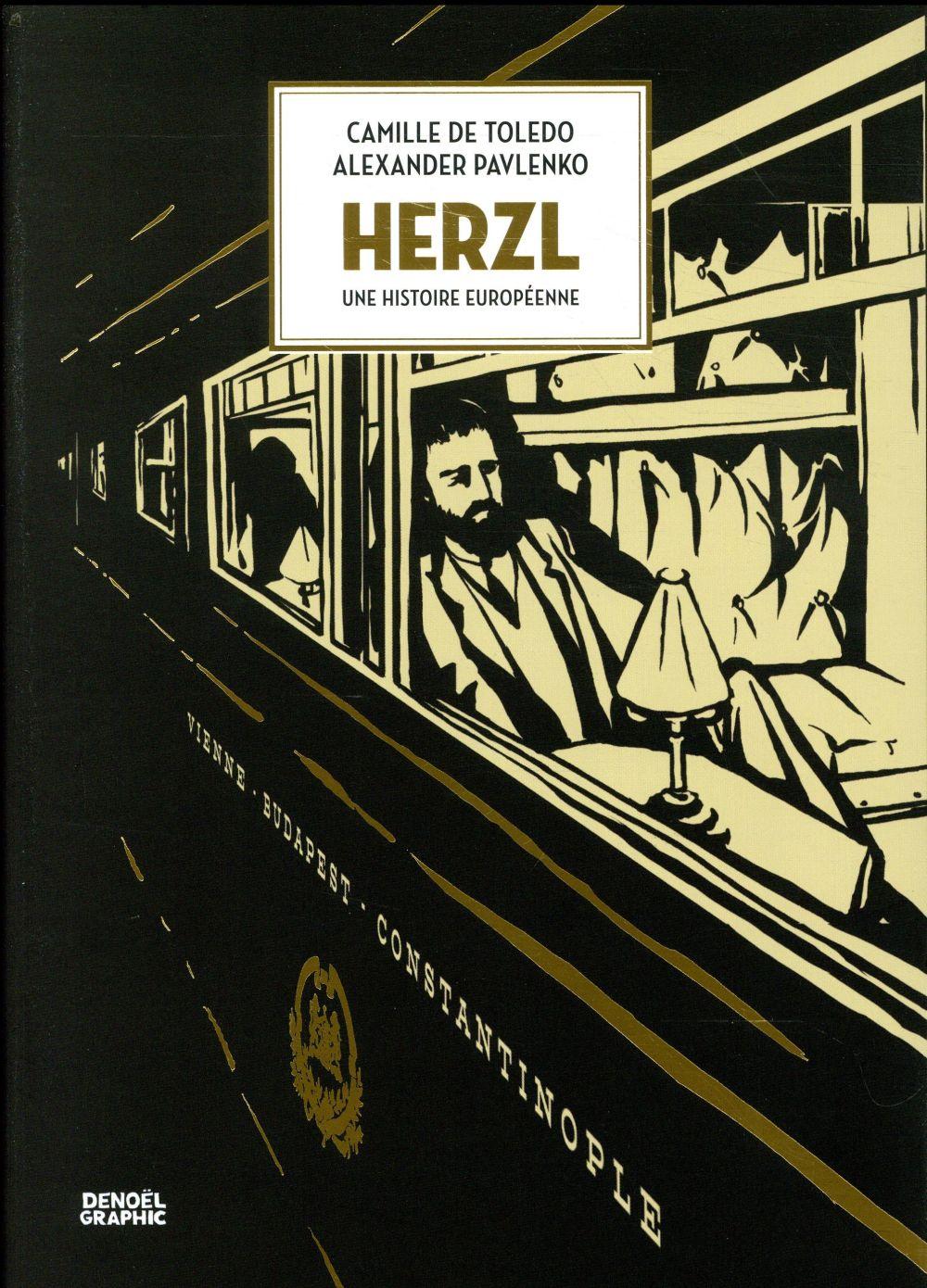 Herzl ; une histoire européenne