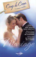Vente Livre Numérique : Mariage (Harlequin Coup de Coeur)  - Carole Mortimer - Rebecca Winters - Melissa James