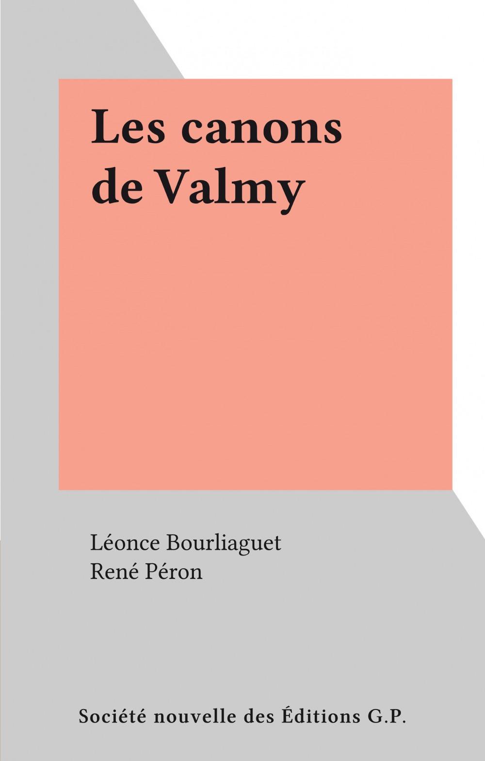 Les canons de Valmy