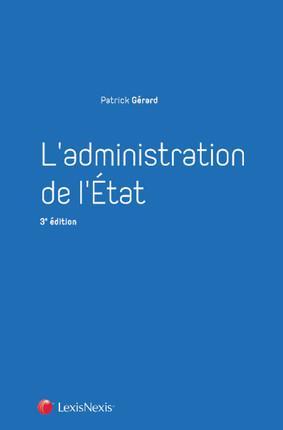 L'administration de l'État (3e édition)