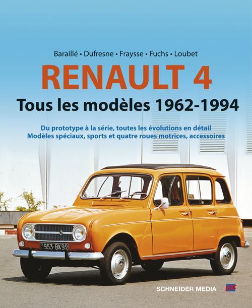 Renault 4 ; tous les modèles 1962-1994