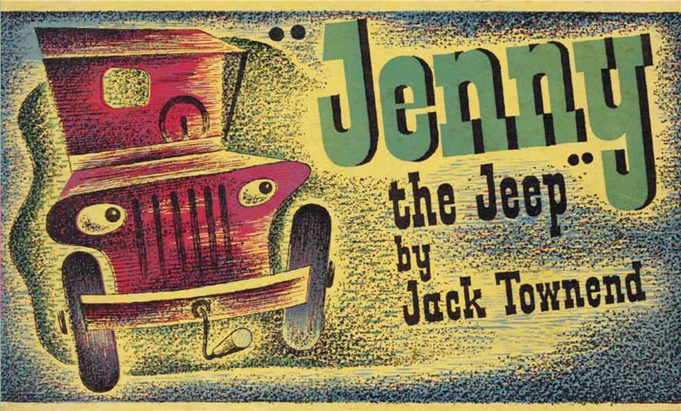 Jack townend jenny the jeep /anglais