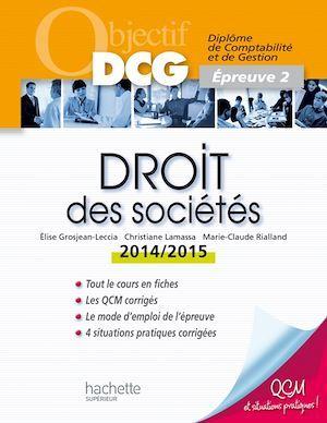 Droit des sociétés (édition 2014/2015)