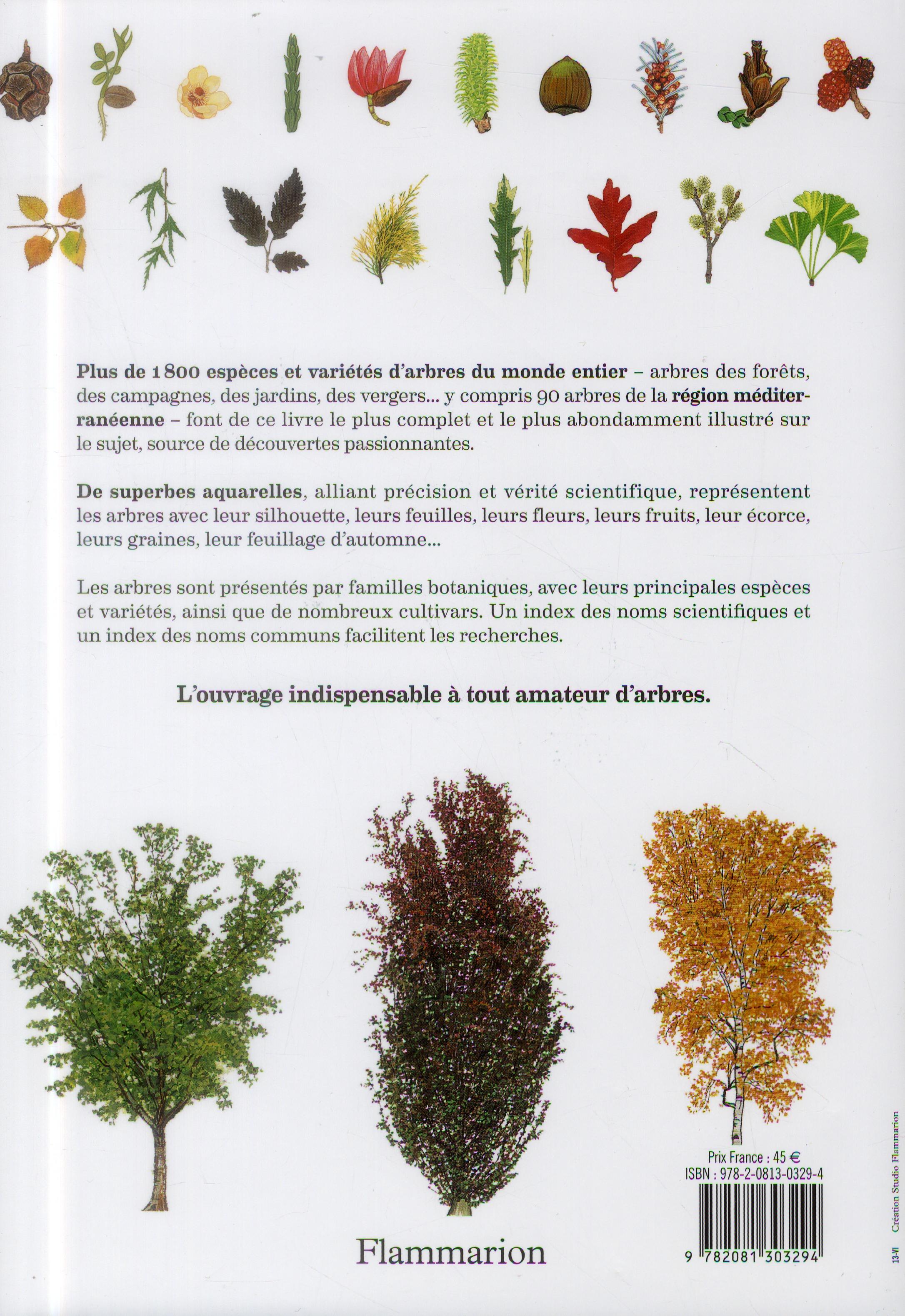 Encyclopédie des arbres ; plus de 1800 espèces et variétés du monde