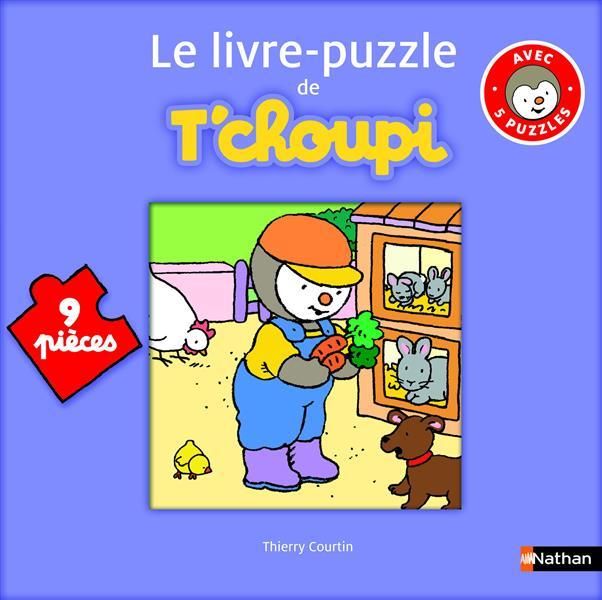 Le Livre Puzzle De T'Choupi ; 9 Pieces