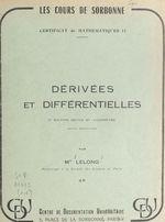Dérivées et différentielles  - Jacqueline Lelong