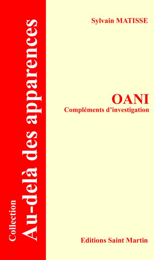 Oani complements d'investigation