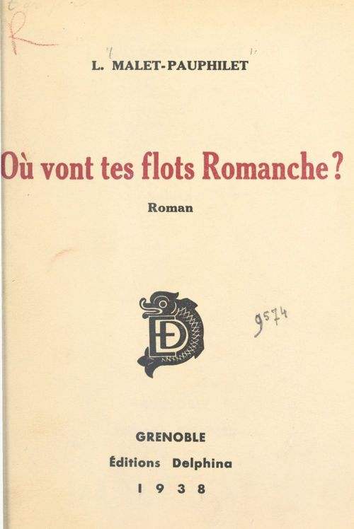 Où vont tes flots, Romanche ?