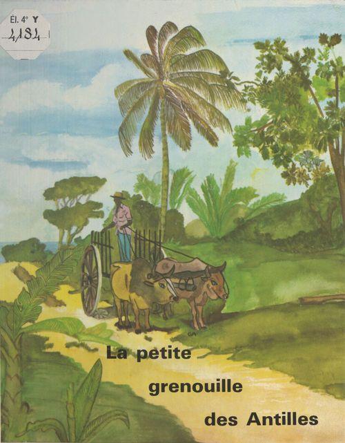 Petite grenouille des  xxantilles