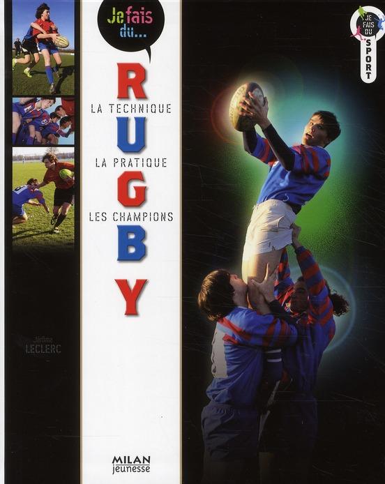 Je fais du rugby