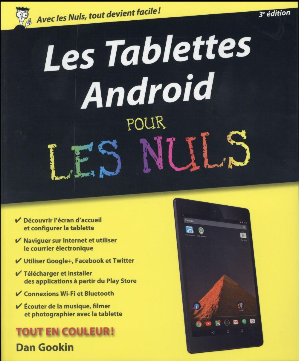 Gookin Dan - Les tablettes Android pour les nuls