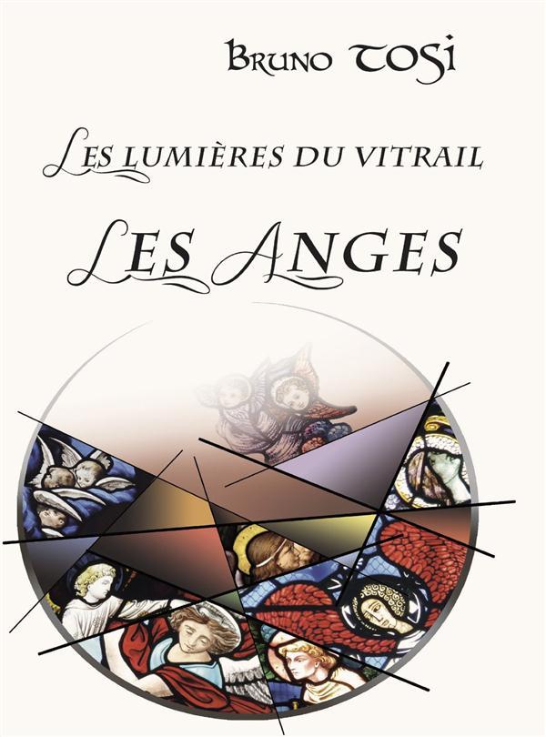 Les lumieres du vitrail les anges