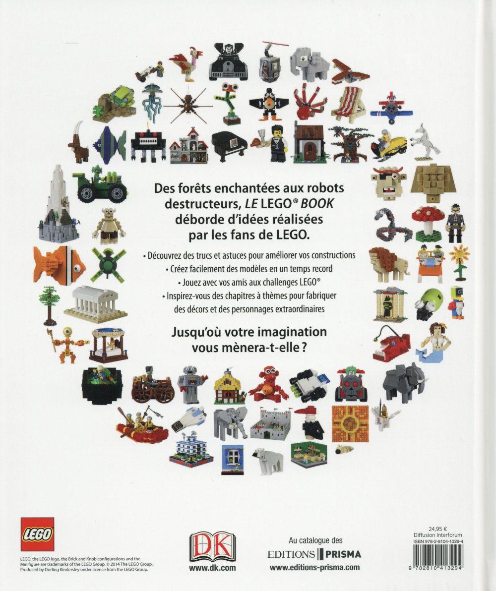 Le Lego book ; donnez vie à vos idées