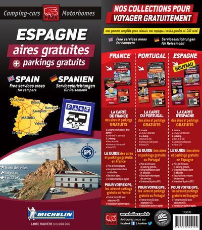 Espagne ; aires gratuites et parkings gratuits