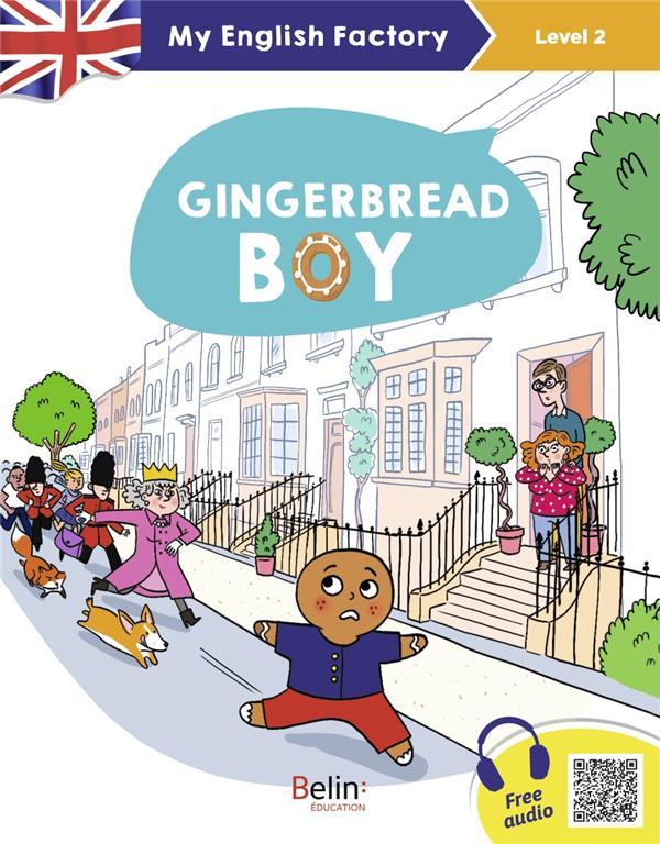 GINGERBREAD BOY (LEVEL 2)