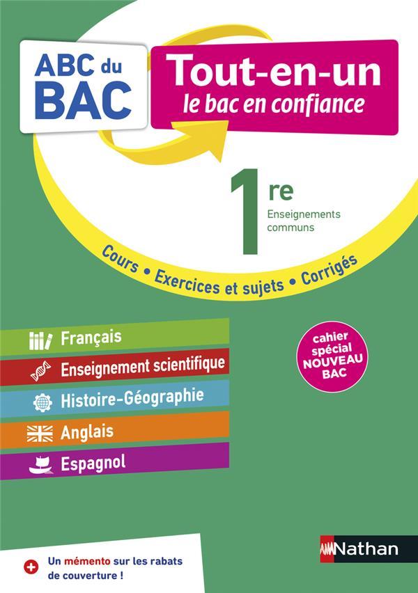 ABC DU BAC ; tout-en-un ; toutes les matières ; 1re (édition 2020)