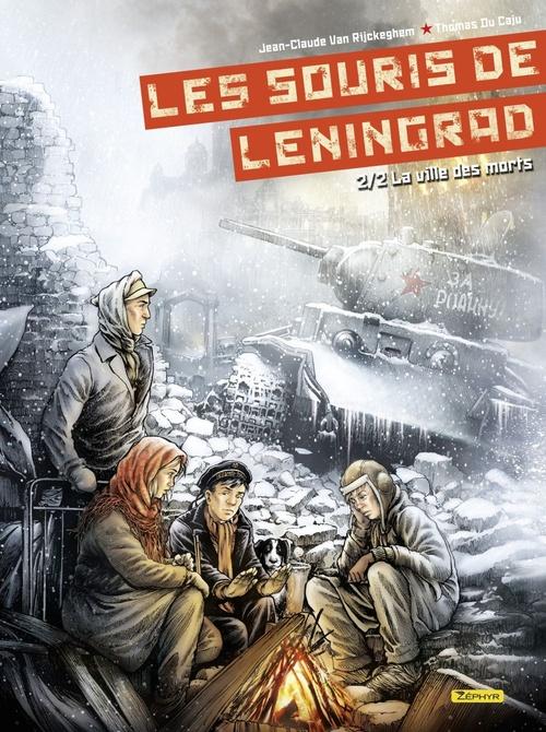 Les souris de Leningrad T.2 ; la ville des morts
