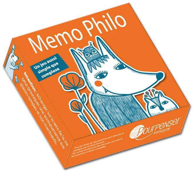 Memo philo ; des petites cartes pour parler de la vie