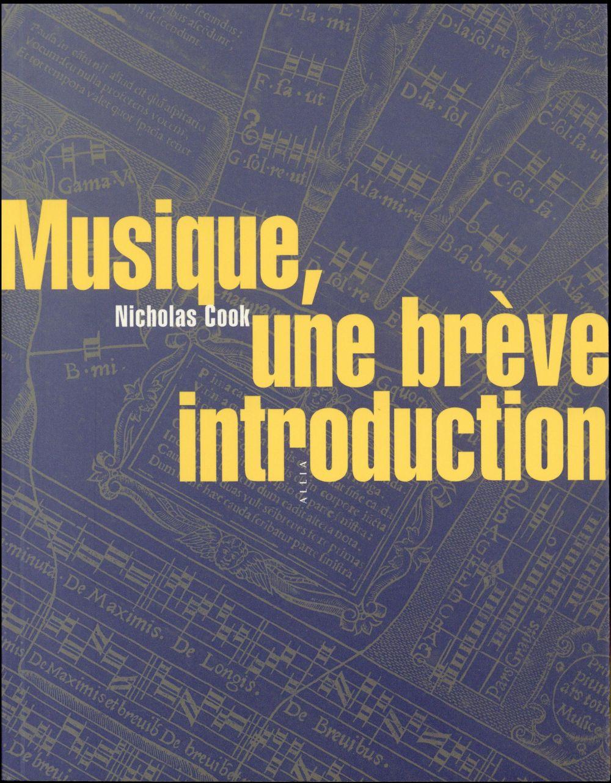 Musique, une brève introduction