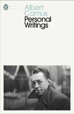 Vente Livre Numérique : Personal Writings  - Albert Camus
