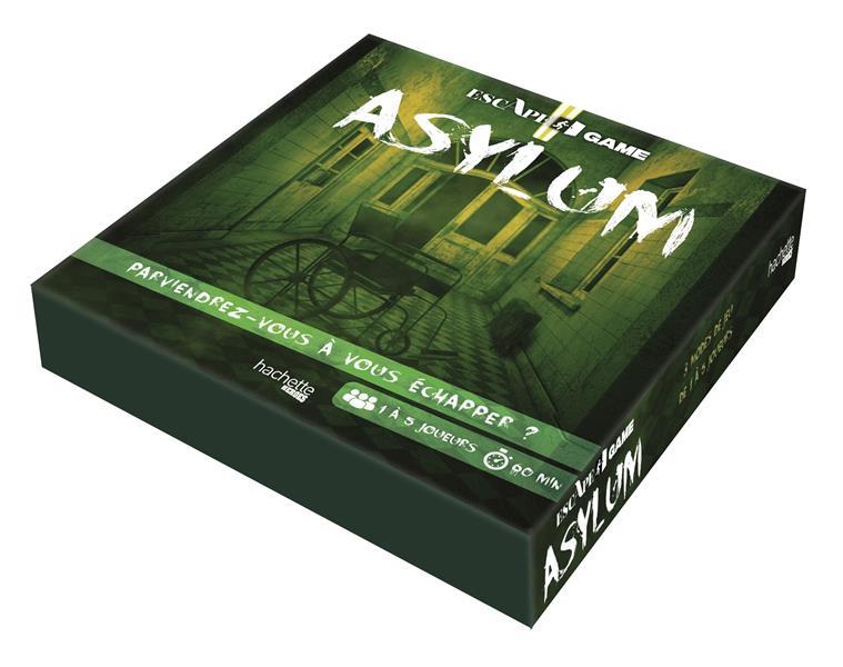 Escape game ; asylum ; parviendrez-vous à vous échapper ?