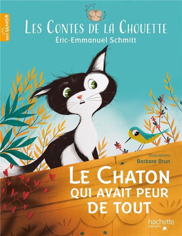 Les contes de la chouette : le chaton qui avait peur de tout