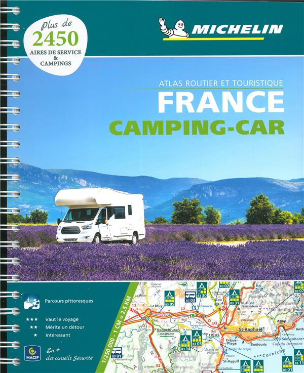 Atlas France camping-car (édition 2020)