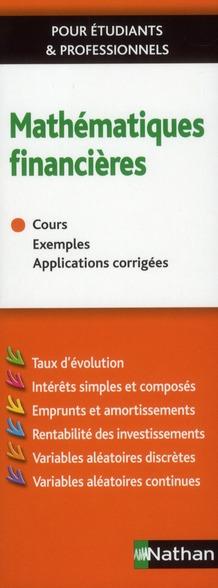 Mathematiques Financieres (Edition 2011)