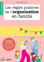 Vente Livre Numérique : Les règles positives de l'organisation en famille  - Marion McGuinness