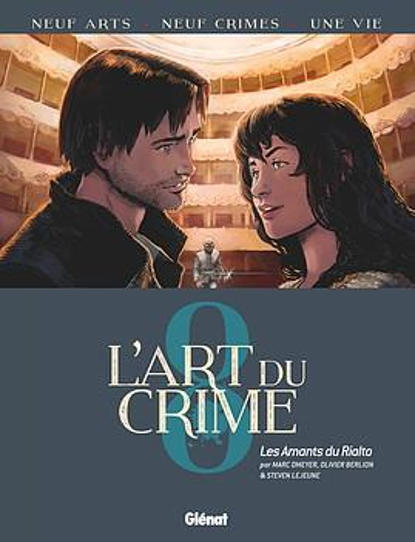 l'art du crime t.8 ; les amants du Rialto