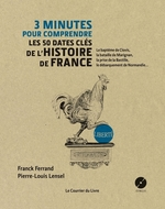 Vente EBooks : 3 minutes pour comprendre les 50 dates clés de l'histoire de france  - Franck Ferrand - Pierre-Louis Lensel