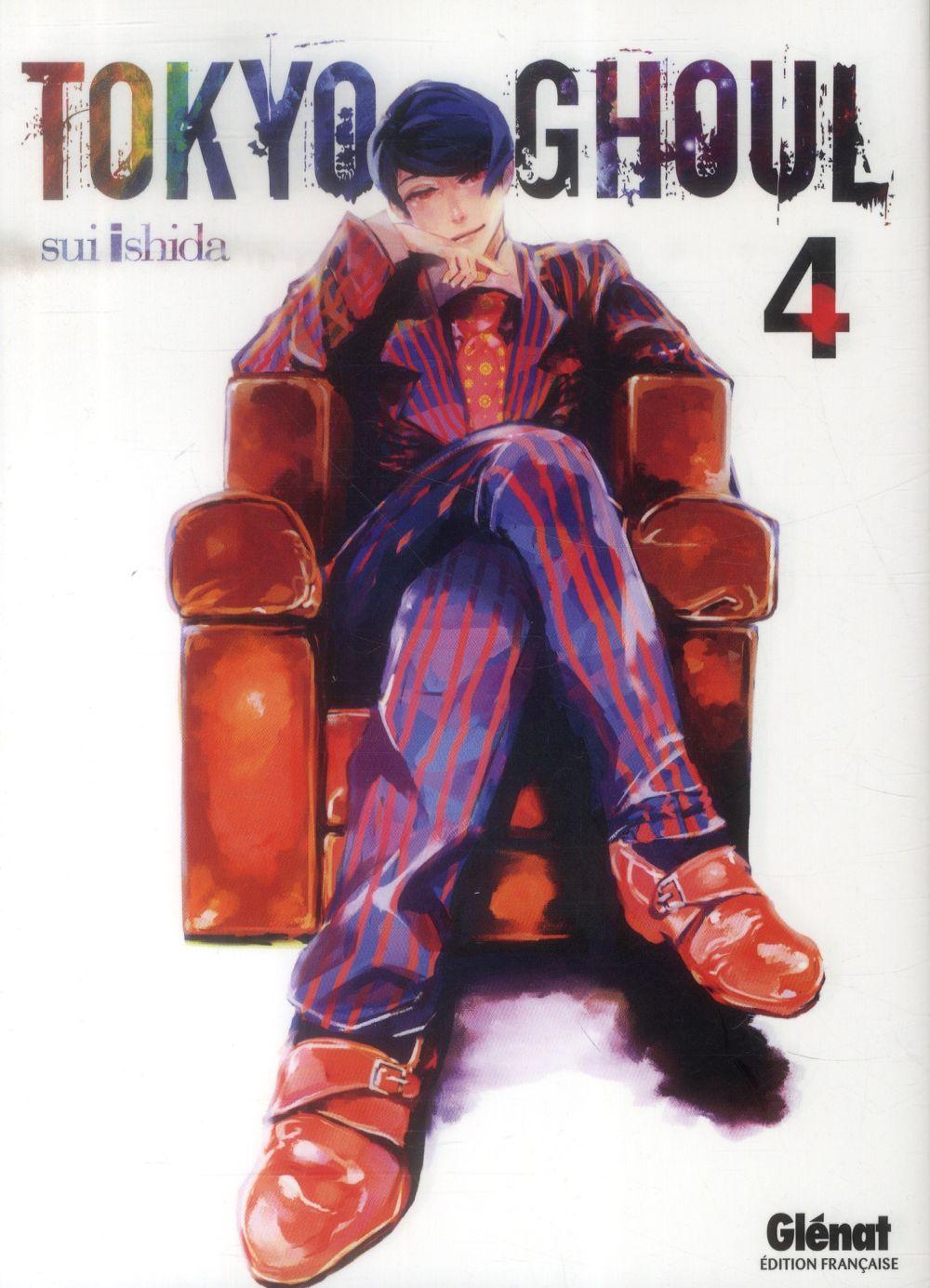 TOKYO GHOUL T.4 Ishida Sui