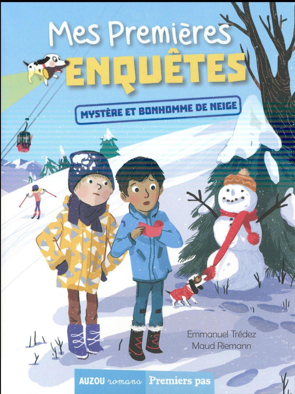 Mes premières enquêtes T.3 ; mystère et bonhomme de neige
