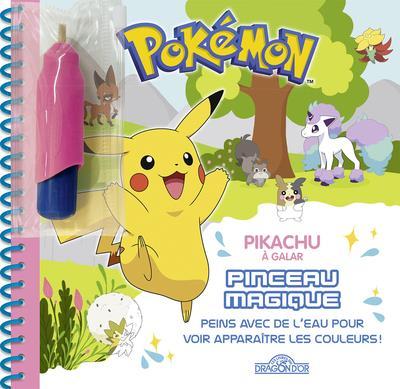 Pokémon ; pinceau magique ; Pikachu à Galar