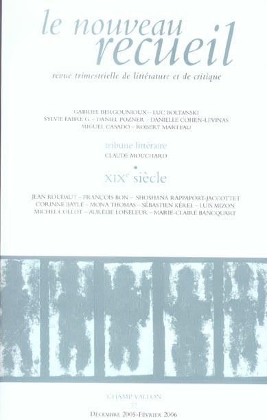 Le nouveau recueil t.77 ; xix siecle