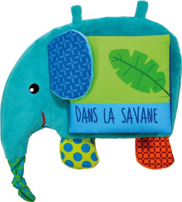 NATHAN L'ELEPHANT - DANS LA SAVANE