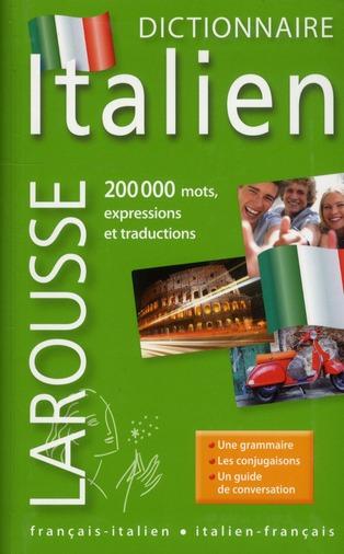 Dictionnaire Larousse De Poche Plus ; Francais-Italien / Italien-Francais