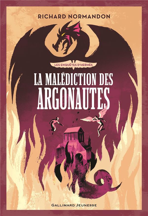 Les enquêtes d'Hermès T.3 ; la malédiction des Argonautes