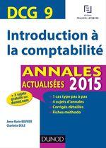 Vente EBooks : DCG 9 - Introduction à la comptabilité  - Charlotte Disle - Anne-Marie Vallejo-Bouvier