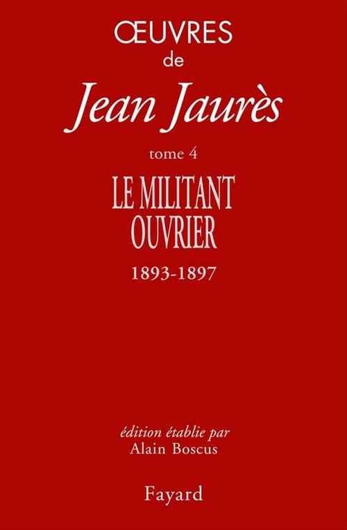 Vente EBooks : Oeuvres tome 4  - Jean Jaurès