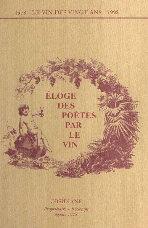 Eloge des poetes par le vin