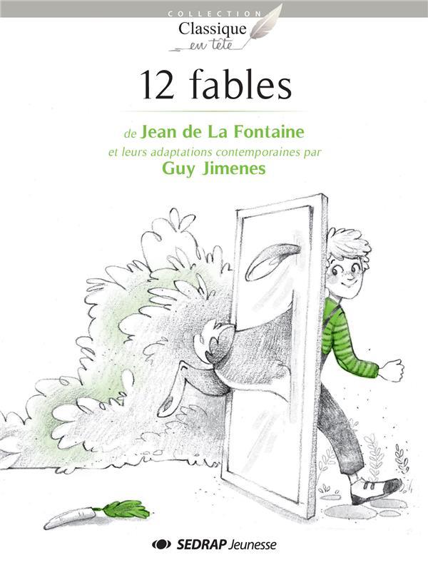 12 fables de jean de la fontaine - roman