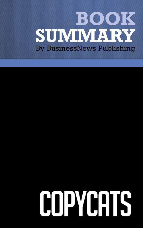 Summary: Copycats - Obed Shenkar