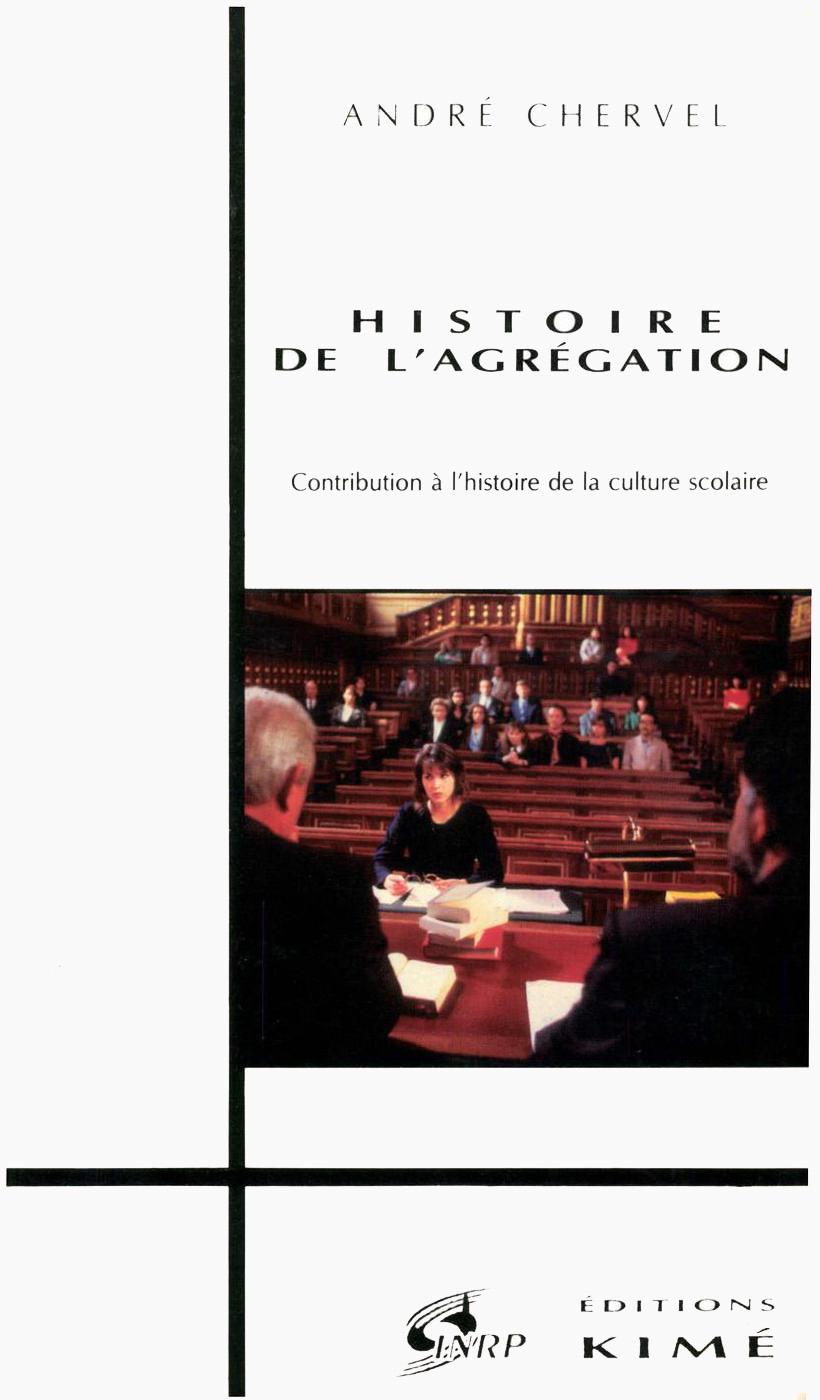 Histoire de l'agregation