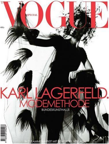 Vogue special karl lagerfeld. modemethode