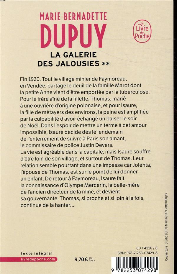 La galerie des jalousies T.2