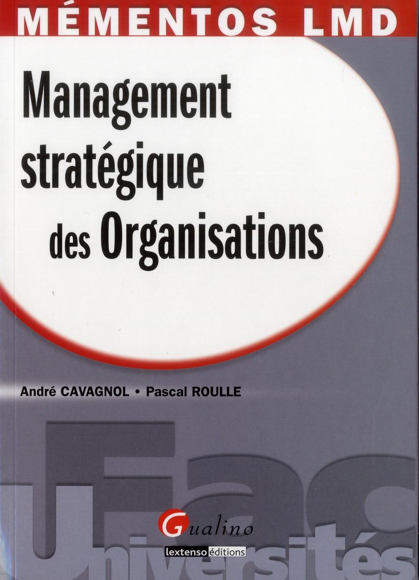 management stratégique des organisations