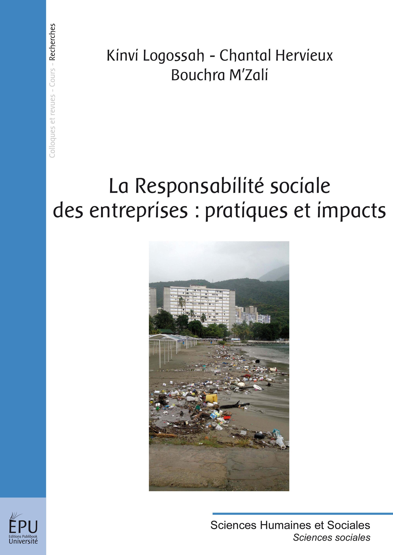 La responsabilité sociale des entreprises ; pratiques et impacts