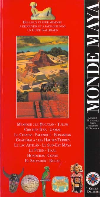 Monde maya - mexique, guatemala, el salvador, honduras, belize